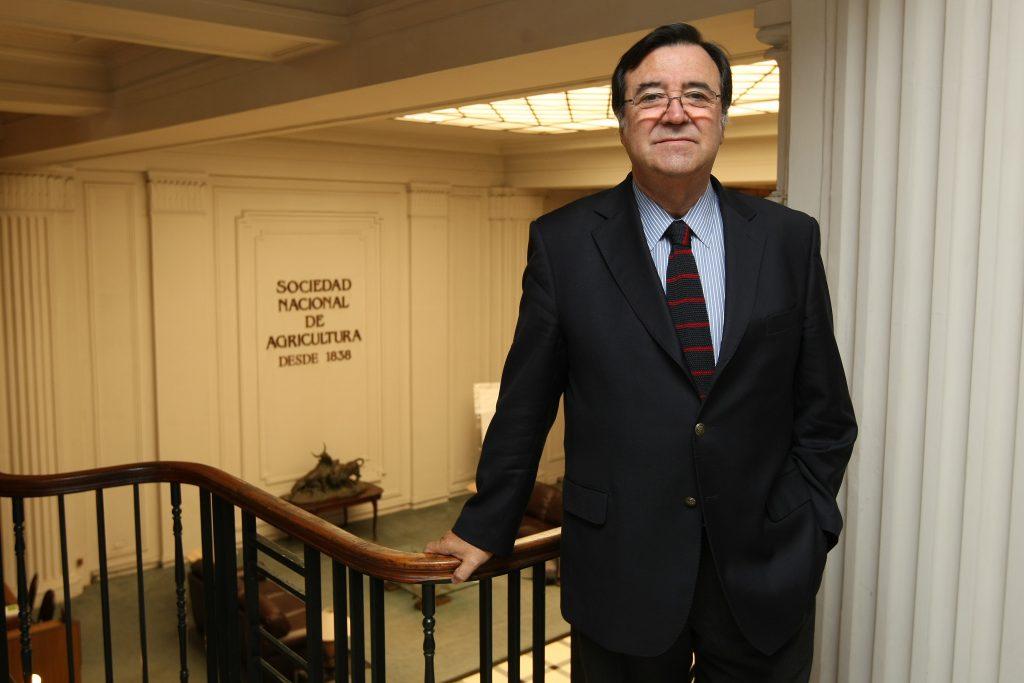 12 Enero 2012 Patricio Crespo presidente Sociedad Nacional de Agricultura foto: Ricardo Gonzalez