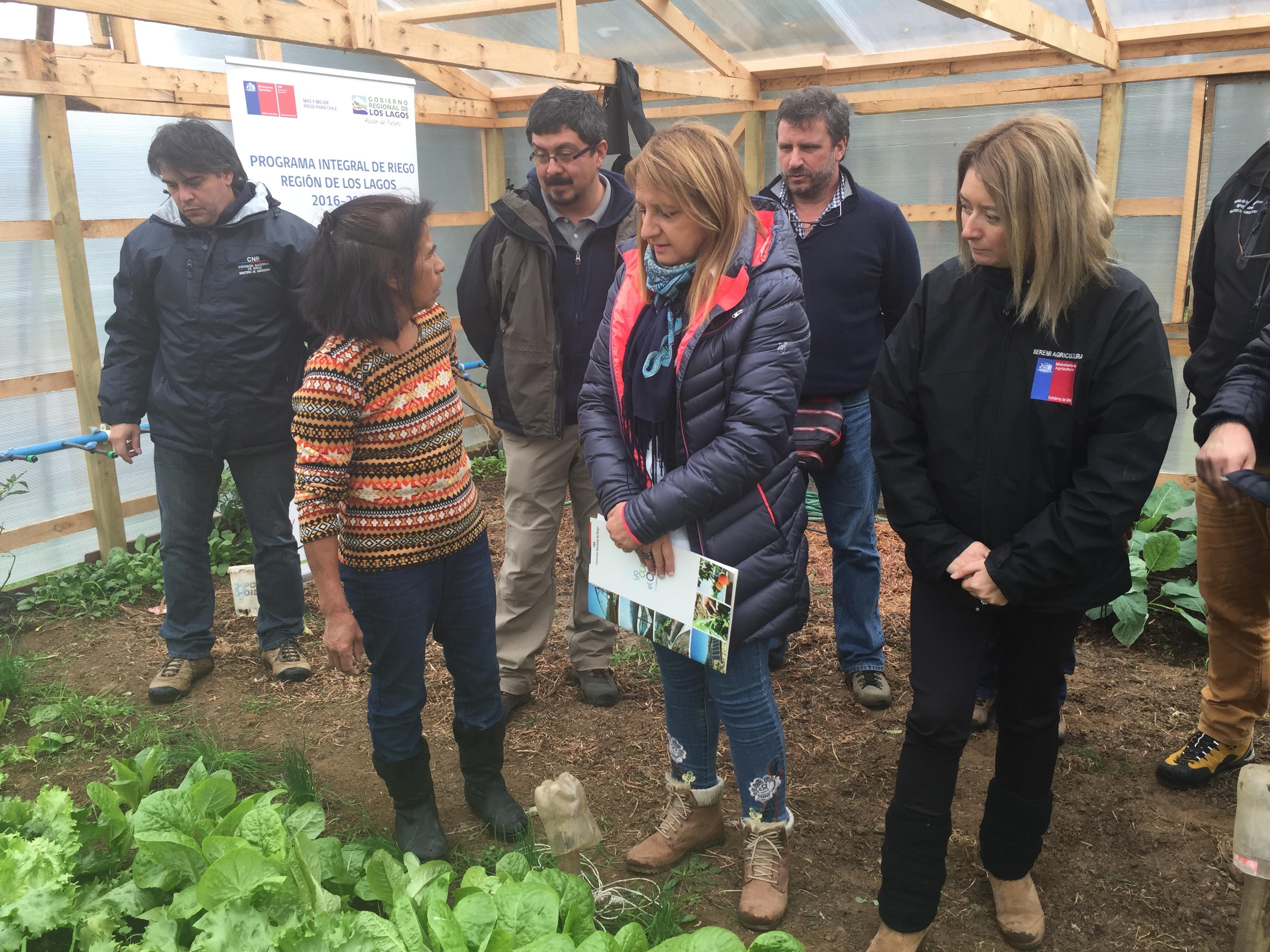 Secretaria Ejecutiva de la CNR recorre proyectos integrales de cosecha de aguas lluvias en comunas de Purranque y Río Negro4